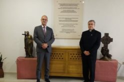 Бискупот Стојанов го прими амбасадорот на Франција во Македонија
