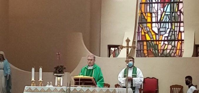 Бискуп Стојанов служеше света Литургија за погодените од огнената стихија во Македонија, соседството и пошироко