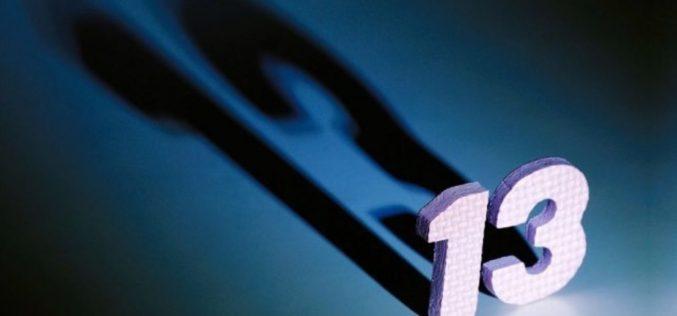 Дали бројот 13 навистина е несреќен број и што значи во христијанството?