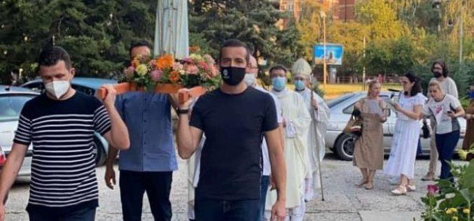 """Прославен празникот Голема Богородица во Катедралата """"Пресвето Срце Исусово"""" во Скопје"""