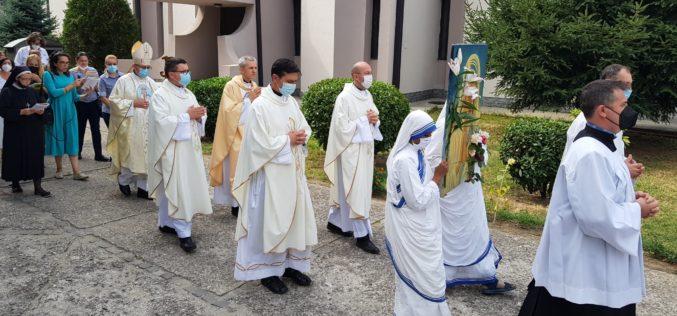 Прославен празникот Света Мајка Тереза во нејзината родна парохија