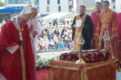 Папата служеше Божествена литургија во Прешов