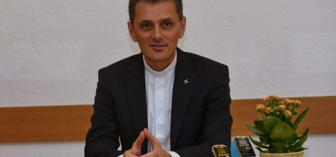 Хиротонија на монсињор Андреј Саје