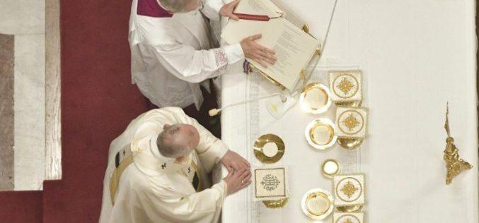 Литургиски прослави кои ќе ги предводи Светиот Отец во септември и октомври