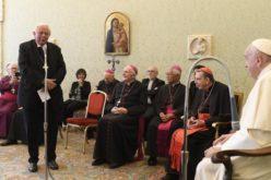 Папата ги прими во аудиенција епископите, пријатели на Движењето на фоколарините