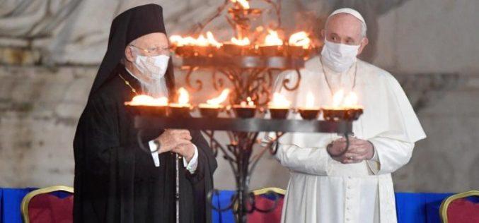 Папата ќе учествува на Молитвенaта средба за мир во Римскиот Колосеум