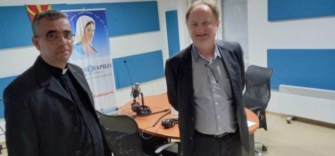Директорот на Радио Марија го прими во посета г-дин Харолд Фугер