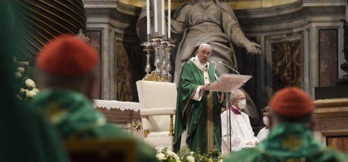 """Започна синодското одење, """"процес на исцелување кое го води Духот Свети"""""""