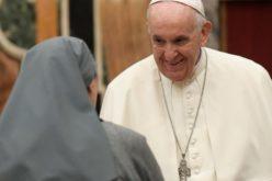 Папата на аудиенцијата со сестрите на христијанската љубов: Вие сте незаменлива присутност во Црквата