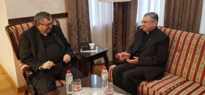 Бискупот Стојанов во посета на кардинал Пуљиќ