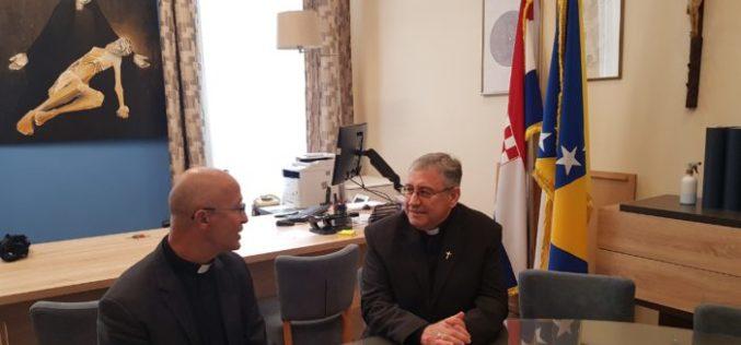 Бискупот Стојанов го посети Католичкиот богословски факултет во Сараево