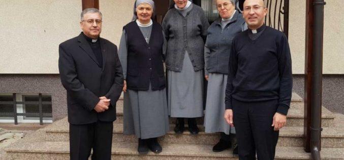 Бискупот Стојанов во посета на сестрите Урсулинки во Зеница