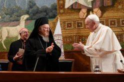 Папата Фрањо до патријархот Вартоломеј: Работиме заедно во соочувањето со денешните предизвици